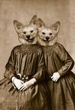Fototapety Twin sisters