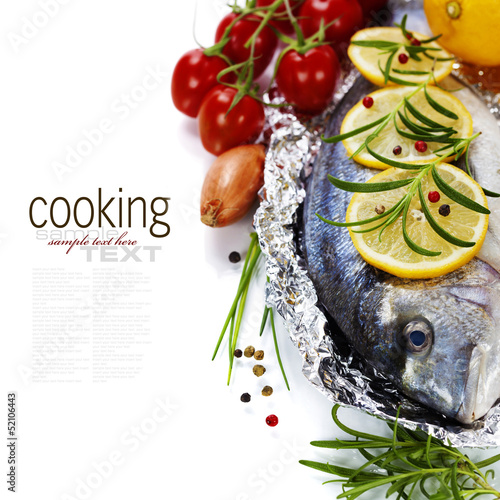 Fototapeten,fisch,essen,meer,zwiebel