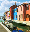 Burano village near Venise