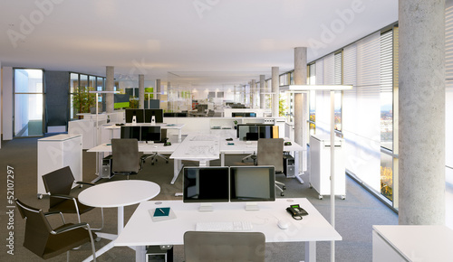 Großraumbüro - open space office