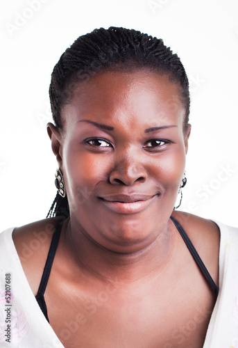 Woman Disguisting with a smile