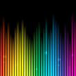 Rainbow Background With Place ...