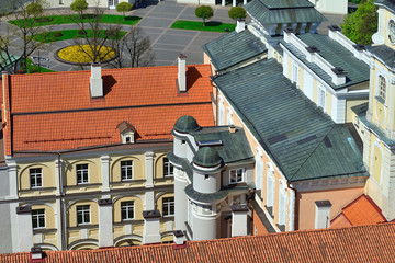 Vilnius University. Oldest university in the Baltic states