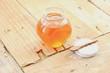 Honey and teaspoon