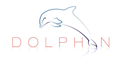 graphisme dauphin