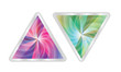 abstract vector triangle
