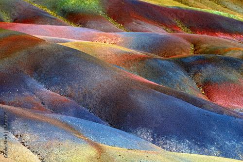 Seven colored land