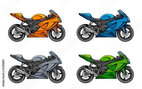 Motorcycle set - 52111889