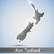 shiny icon in form of New Zealand