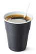 Plastic vending coffee cup