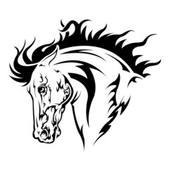knight tattoo black and white