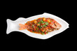 Thai Red Snapper with Tamarind Sauce