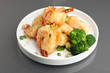 Fried Honey Shrimp with Broccoli