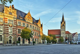Anger square in Erfurt, Germany