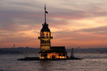 Leandre Tower-Kız Kulesi-Maiden's Tower-Istanbul-Turkey