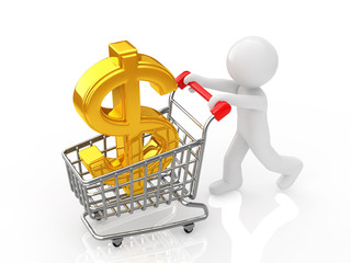 currency symbol in a shopping cart