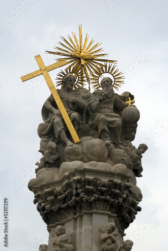 Statue of the Holy Trinity, Budapest, Hungary
