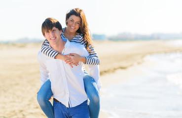 Happy Couple Enjoying Together