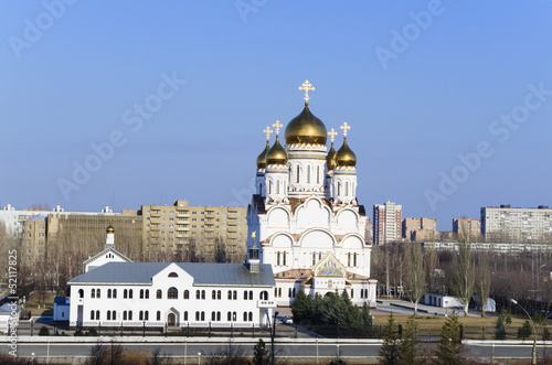 typisch russisch orthodoxe kirche russland stadt toljatti stockfotos und lizenzfreie bilder. Black Bedroom Furniture Sets. Home Design Ideas