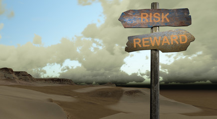 sign direction risk - reward