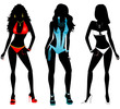 Swimsuit Silhouettes