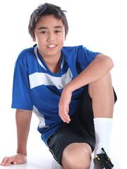 kind während sportlicher aktivität