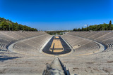 Panathenaic stadium or kallimarmaro in Athens ,Greece - 52124893