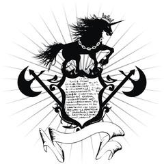 heraldic unicorn coat of arms13