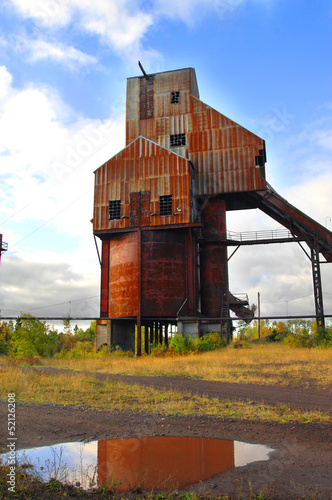 Abandoned Osceola Copper Mine Shaft