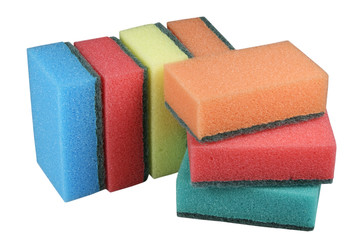 Sponge set for ware washing