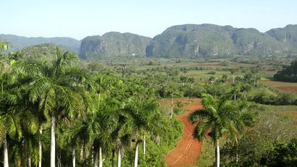 Nature and landscape, hills and mountains in Viñales, Cuba