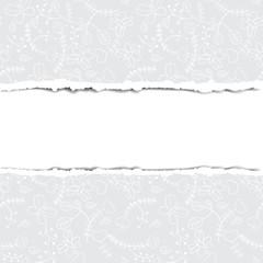 Pattern torn paper