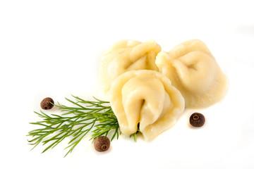 Dumplings (pelmeni)