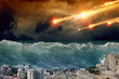 Tsunami, asteriod impact