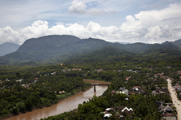 views of Luang Prabang