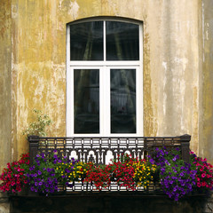 European balcony