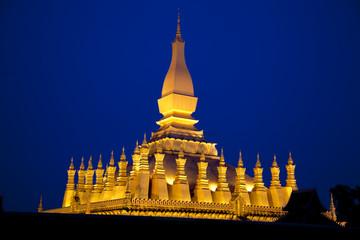 Vientiane. Pha That Luang