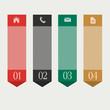 Vertical design template infographics