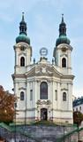 Church of St. Mary Magdalene,Karlovy Vary poster