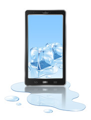 Mobile and ice