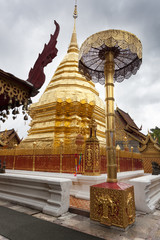 Golden Stupa. Doi Suithep