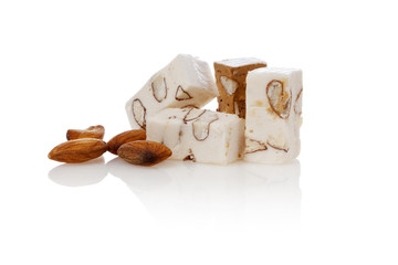 Belgian Nougat Isolated