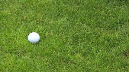 Golfschlag mit Wedge langsam