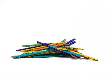 Rainbow sticks group