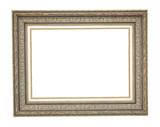 Marco de cuadro hecho de madera tallada