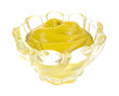 Mustard in glass bowl