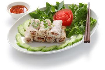 net spring rolls, chao gio re, vietnamese cuisine