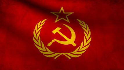 Soviet flag.