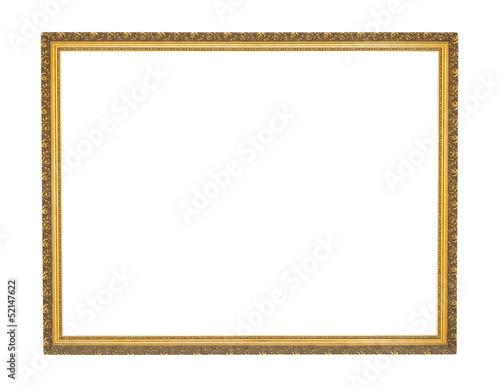 Marco de cuadro dorado - 52147622