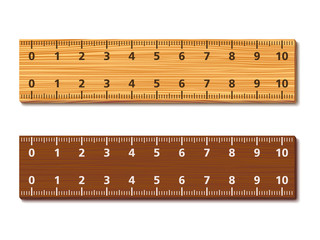 Wooden Rulers